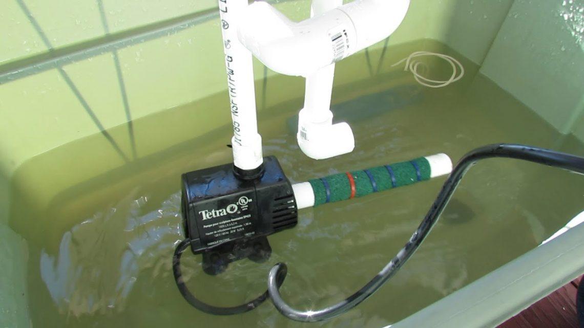 L'utilité d'une pompe immergée