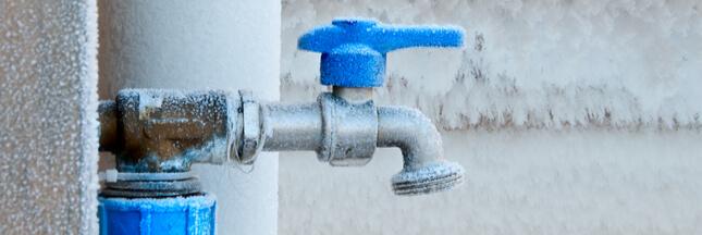 Comment protéger vos robinets du gel ?
