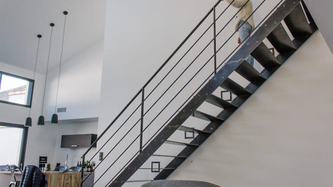Pourquoi choisir un escalier en métal design ?